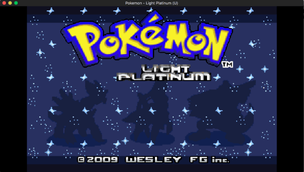How to play gba rom hack on mac