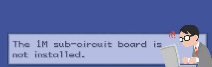 Fixing the 1m sub-circuit board is not installed on emulator