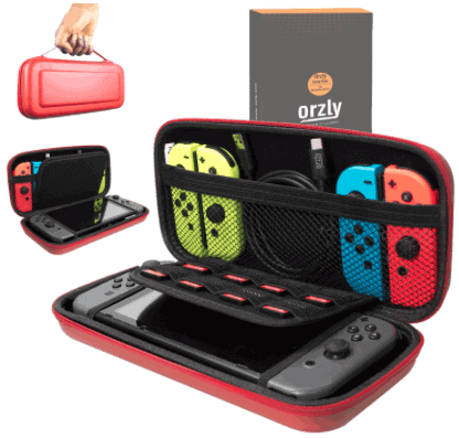 Best carry case for nintendo switch orzly