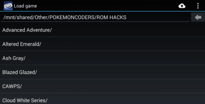 Game boy advance rom hacks for android