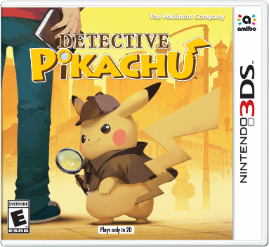 Detective pikachu for 3ds