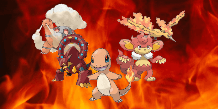 Fire pokemon strength and weakness