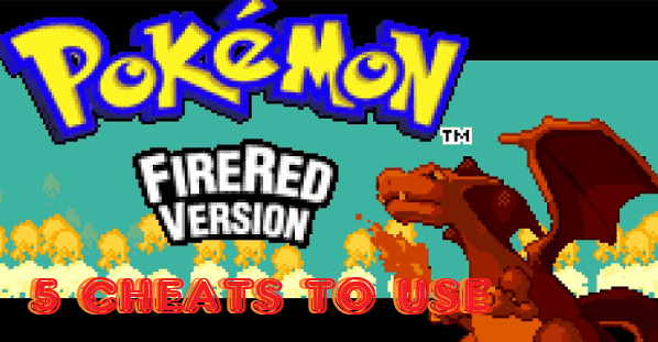 Firered cheats we recommend to use