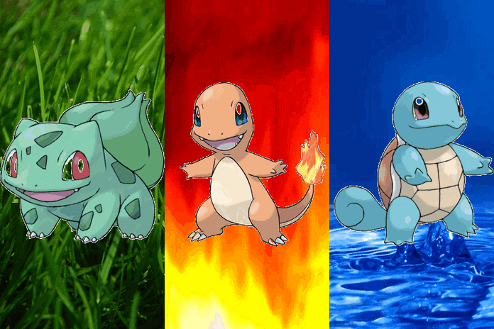 Firered leafgreen starters