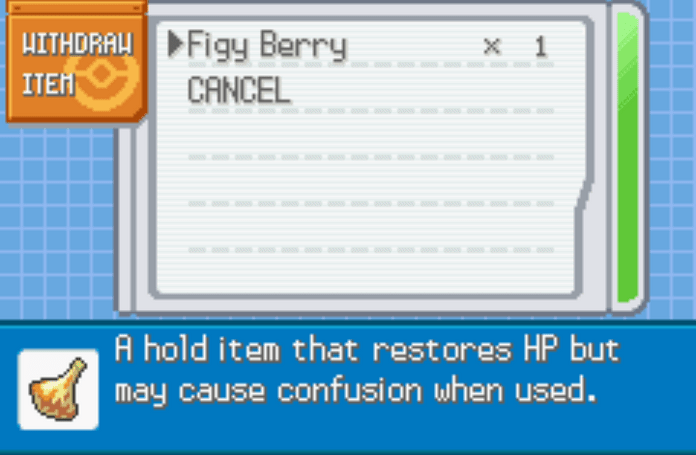 Unlimited berries last firered cheat