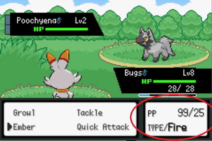 Unlimited pp last firered cheat