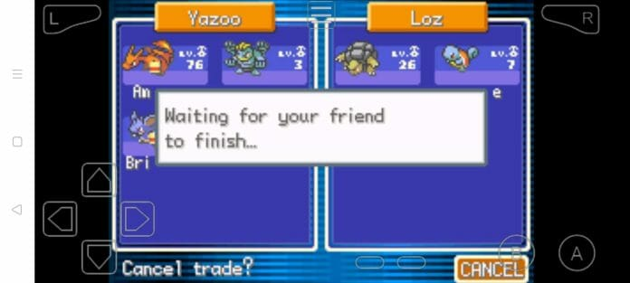 Step 25 how to trade pokemon in myboy