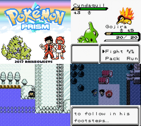 Prism pokemon rom hack with physical special split