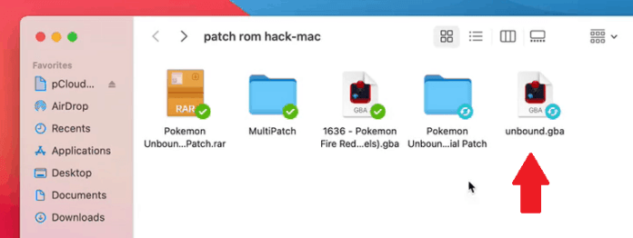 Step 10 how to patch rom hacks on mac using multipatch