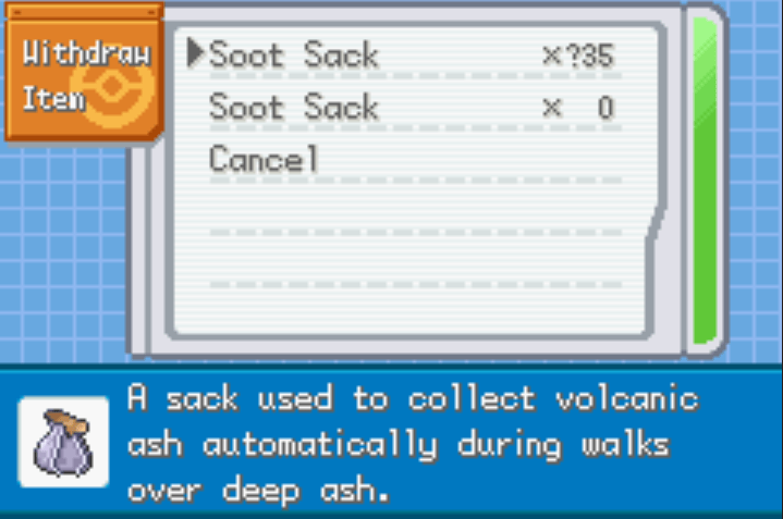 Unlimited misc items pokemon cloud white 3 cheat