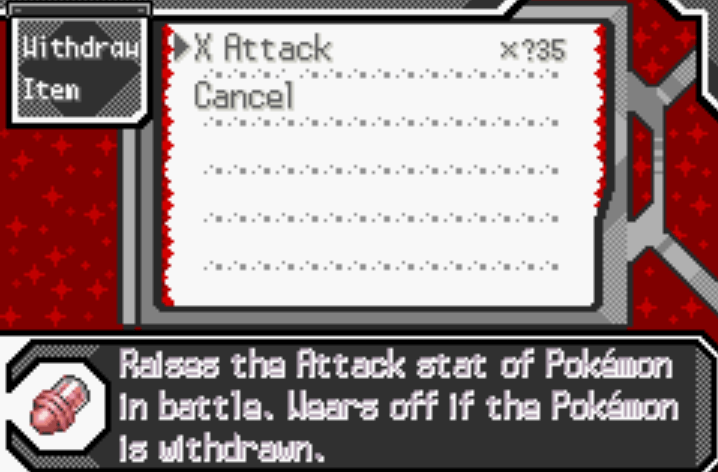 Unlimited misc items pokemon sors cheat