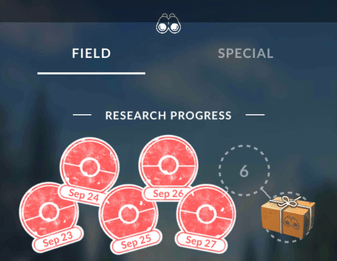 How to get a sinnoh stone in pokemon go through research